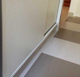 Reforma piso de cozinha