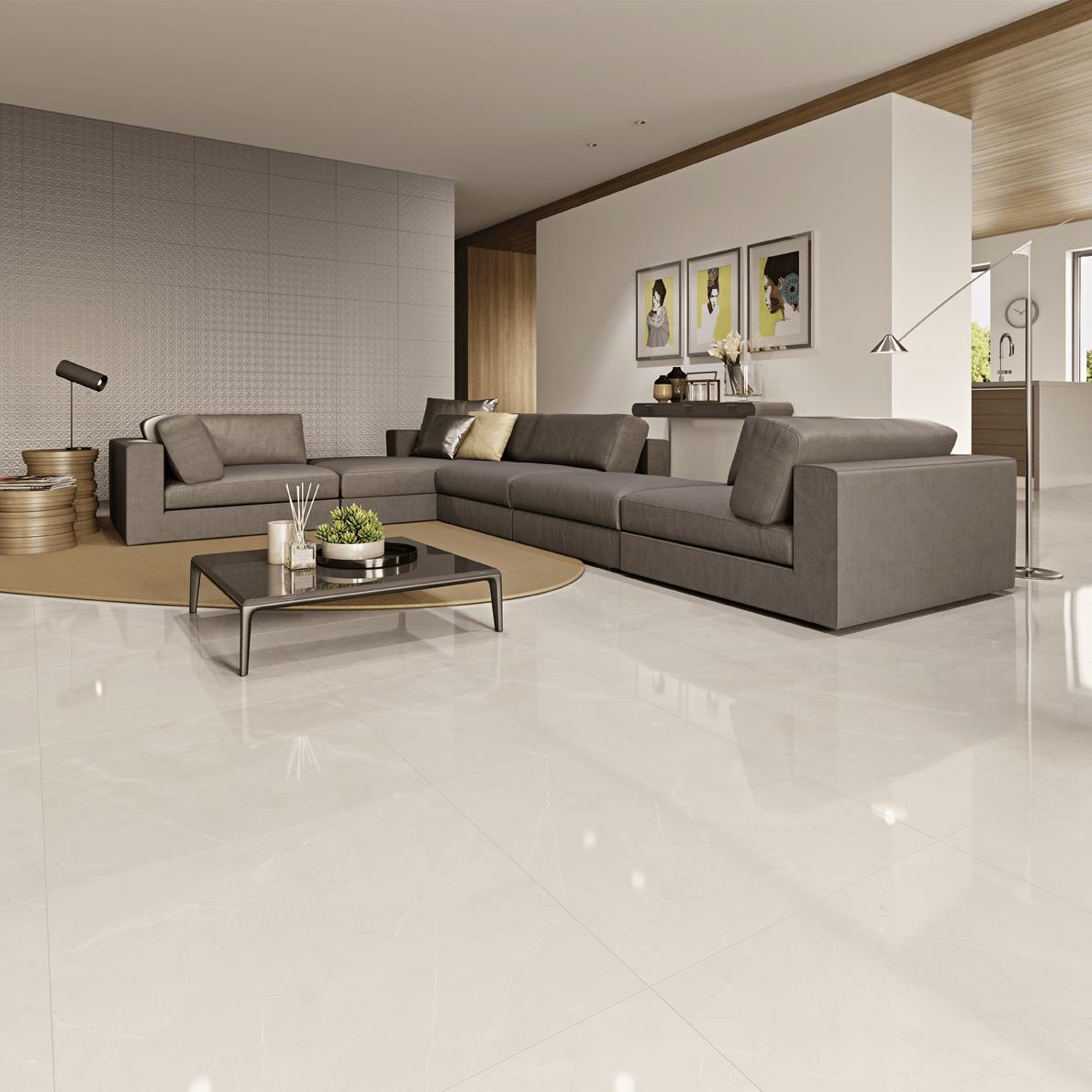 Descubra se o porcelanato polido é o piso ideal para seu imóvel