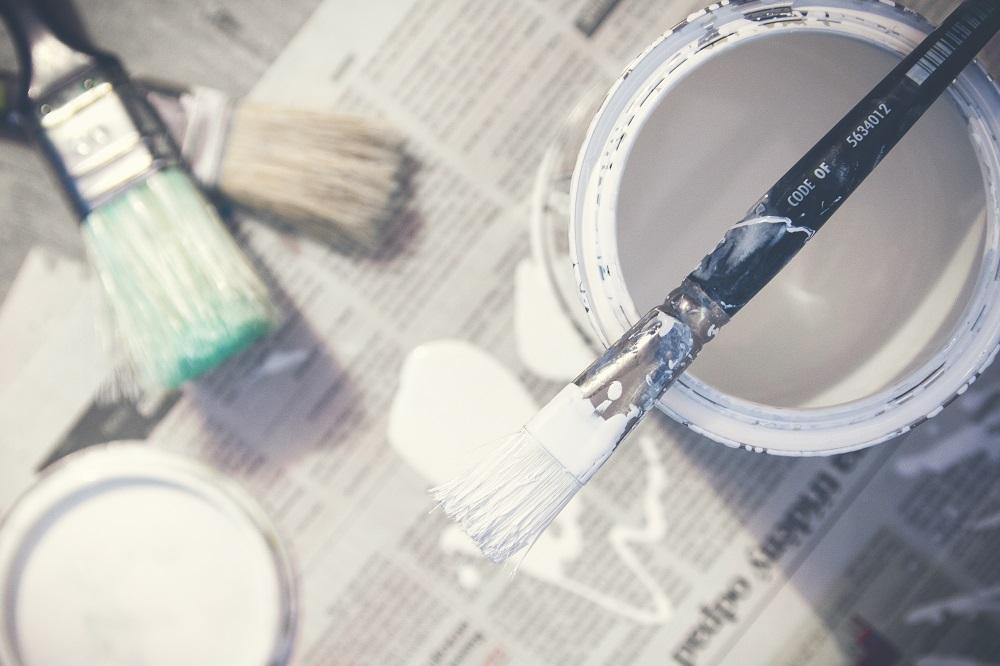 11 materiais para o trabalho de pintura das paredes