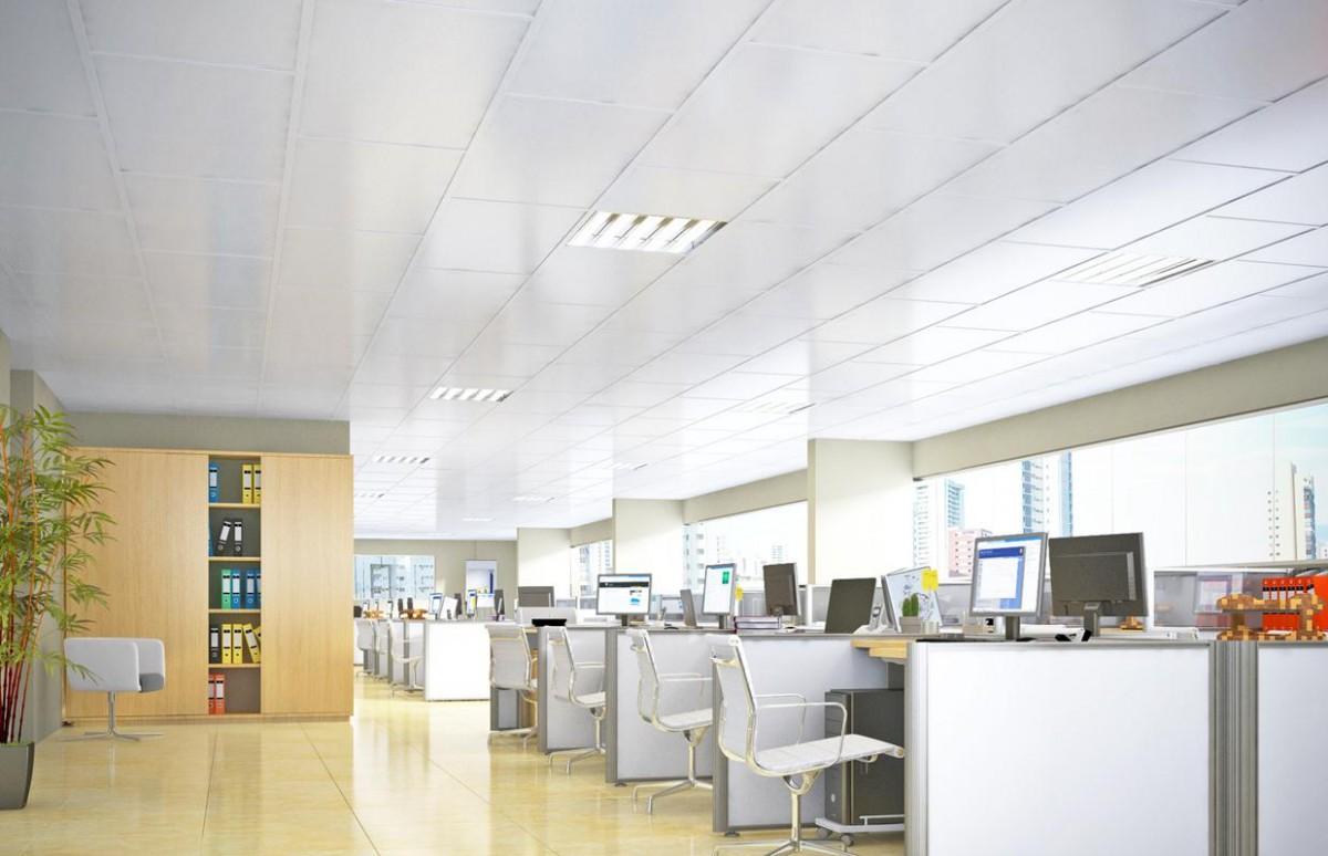 Forro modular é considerado opção ideal para ambientes corporativos